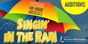 Singin in the Rain Auditions