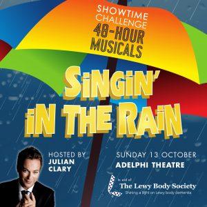 Singin' In The Rain Julian Clary Square